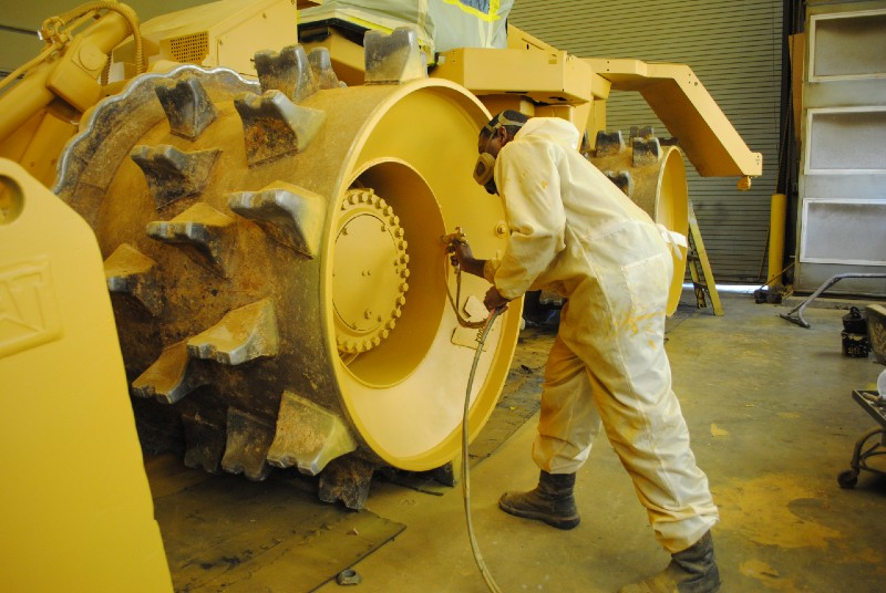 Industrial Equipment Painting
