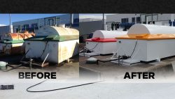 Mobile paint coating