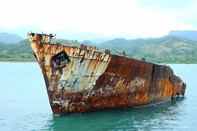 salt water corrosion